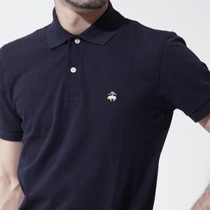 Brooks Brothers Navy Blue Polo Shirt Size M